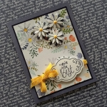Tic Tac Toe Delightful Daisy Floral