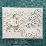 Santa's Sleigh Reindeer for Christmas in July