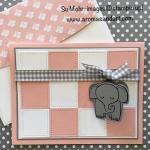 Elephant Baby Blanket Welcome
