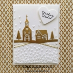 Chapel of Love Wedding Card