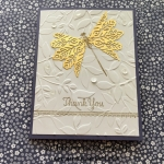 Gold Foil Snowflake Wings