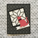 Christmas Quilt Bundle and Red Gingham Cat Punch