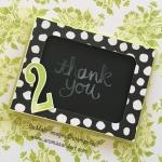 Chalkboard Gift Card Holder