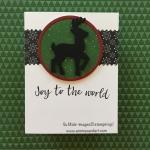 Rudolf the Reindeer Silhouette