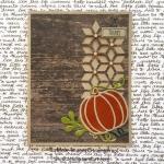 Thanksgiving Pumpkin Card