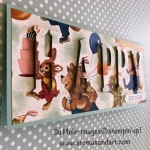 Happy Birthday Memories Large Letters Long Card