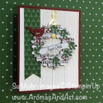 Musical Wreath Christmas Card