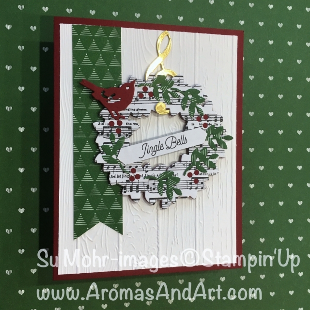 Musical wreath christmas card aromas and art musical wreath christmas card m4hsunfo