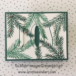 Large Letters JOY in Christmas Pines