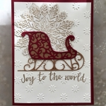 Quick and Easy Christmas Card Joy