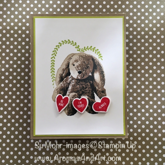 By Su Mohr for GDP117; Featuring: Sweet Little Something, Sure Do Love You; For more details click visit to go to my blog! #sweetlittlesomething #suredoloveyou #Valentines #Valentinesdaycards #stuffedanimals #bunnies