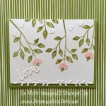 Stampin' Up Love Tree of Hearts