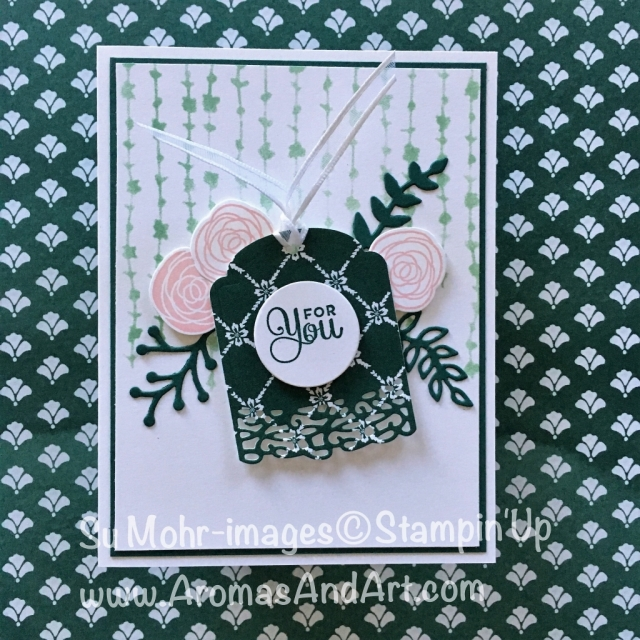 By Su Mohr for CTS254; Click on Visit to go to my blog for details; Featuring: Cake Soiree; #birthdaycards #birthdaycake #cakesoiree #simplestripes
