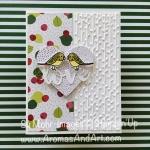 Valentine Lovebirds from Bird Banter Stamp Set