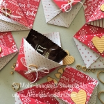 Video-How to Make a Quick & Easy Gift Pocket for Valentines Day