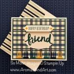 True Gentleman Friend Birthday Card