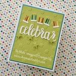Celebrate in Spanish is Celebrar