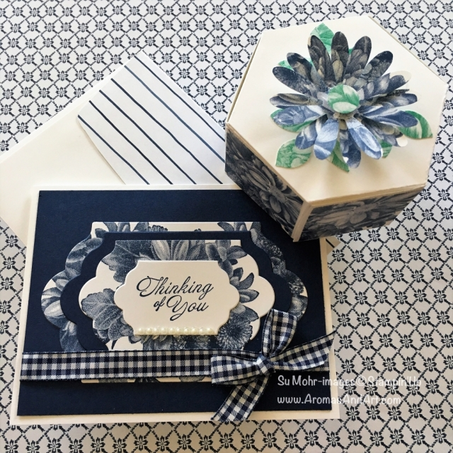 By Su Mohr for Pals April 2018 Blog Hop; Click visit to go to my blog for detail! Featuring: Heartfelt BloomsLots of Labels, Window Box Dies, Daisy Punch, Leaf Punch