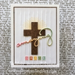Amazing Grace Easter Card with Cross of Hope