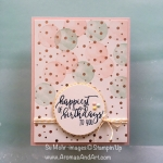 Springtime Foils Picture Perfect Birthday Card
