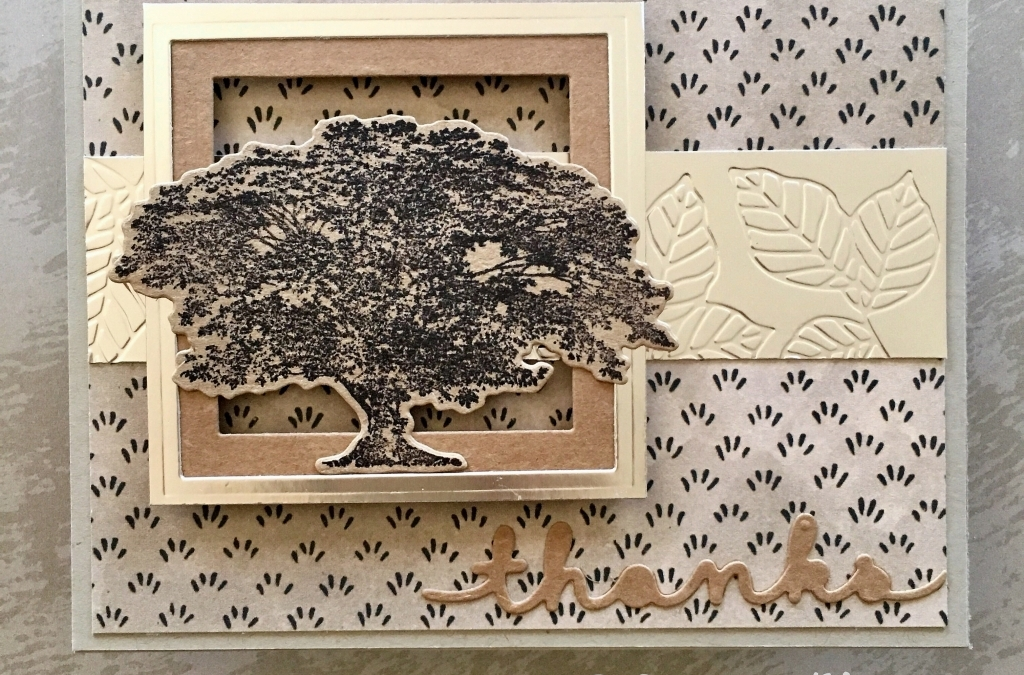 Nature's Poem Suite Creates Masculine Cards