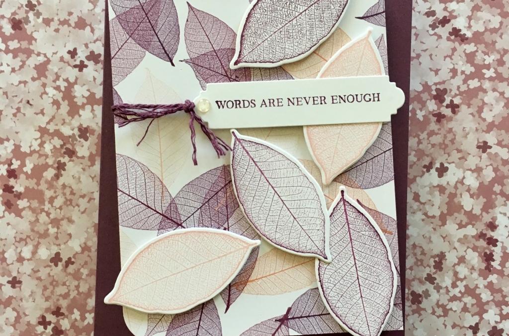 Nature's Poem Sympathy Card