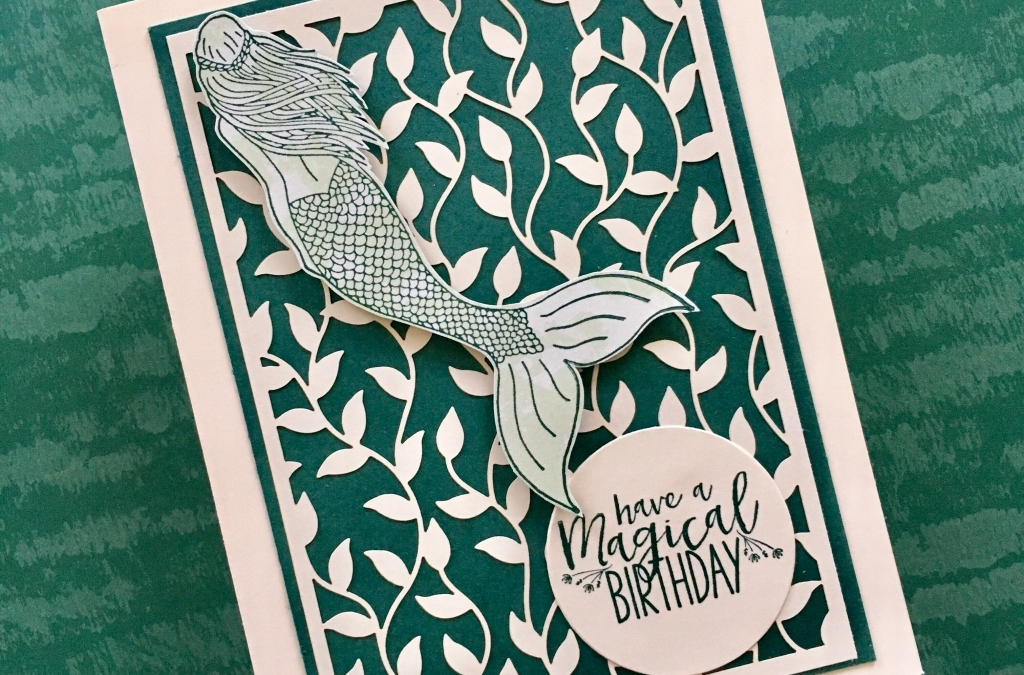 Magical Mermaid Meets Delightfully Detailed Laser-Cut Specialty Paper