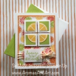Lemon Zest Tutti-Frutti Birthday Card