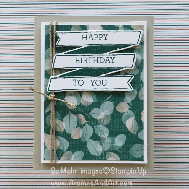 By Su Mohr for cts167; Click Read to go to my blog for details! Featuring; Banners for You, Bunch of banners, Crazy About You, Nature's Poem, Rooted in Nature, Nature's Roots, Epic Celebrations; #birthdaycards #banners #diy #handmadecards #natureoncards