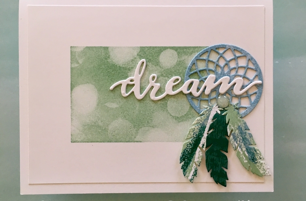 Chase Your Dreams with Feathers and Bokeh Dots