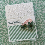 Stripes, Color, Design, Petal Palette Birthday Card