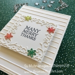 Holiday Catalog 2018 Dashing Deer Thank You Card