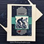 Enjoy Life Cycling Masculine Birthday Card