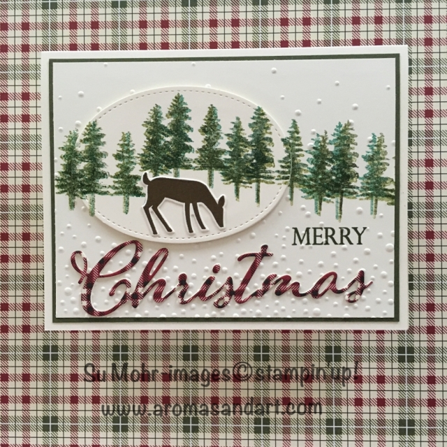 By Su Mohr for #WWYS186; Click READ to go to my blog for details! Featuring; Waterfront stamp set, Dashing Deer, Merry Christmas, Stitched Shapes, Festive Farmhouse; #wwys186, #waterfront #dashingdeer #merrychristmas #christmascards #stampinup #dashingdeer #handmadecards #diy