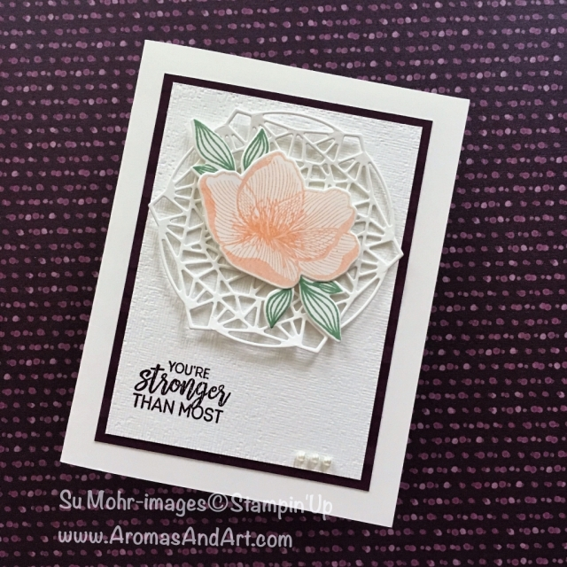 By Su Mohr for GDP157; Click READ to go to my blog for details! Featuring: Beautiful Promenade, Beautiful Layers, Subtle Textured embossing; #beautifulpromenade #sympathycards #handmadecards #diy #stampinup #gdp157