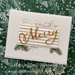 Clean & Simple Merry Christmas Card