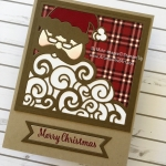 Detailed Santa Christmas Card~My Favorite!
