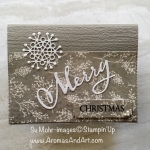 """A Single Snowflake and """"Merry"""" Sparkle"""