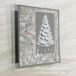 3D Sparkle Glimmer Christmas Tree