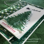 Under the Mistletoe Panel Fold Card