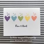 #simplestamping From the Heart