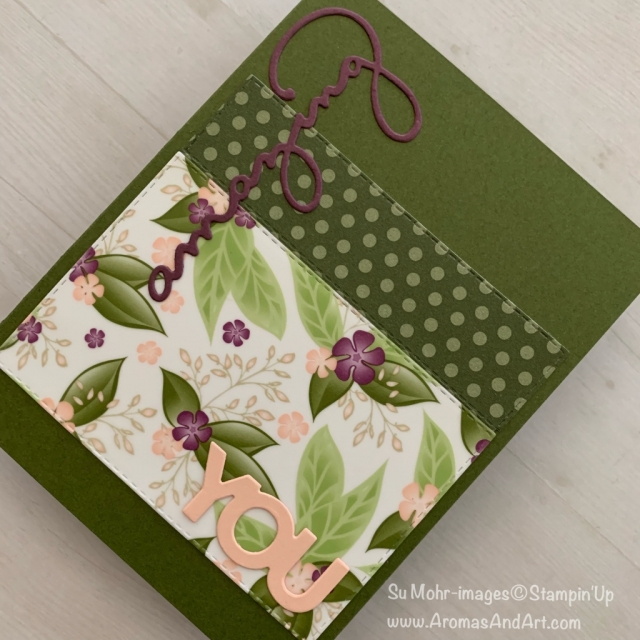 By Su Mohr for cts306; Click READ or VISIT to go to my blog for details! Featuring: Floral Romance DSP, Rectangle Stitched dies, 6X6 Neutrals DSP, Celebrate You die set; #celebrateyou #ink-free #simplestamping #cleanandsimple #floralromance #handmadecards #diy #papercrafting #stampinup