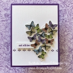 Heart Full of Butterflies for Paper Players 426