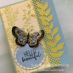 """Quick & Easy"" Butterfly Card"