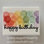 """Quick & Easy"" Rainbow Birthday Card"