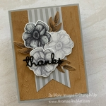 Painted Seasons Masculine Thank You Card *Video*