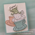Tea Time Surprise Frog