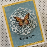 Quick & Easy Butterfly Card for Paper Players 437