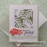 Tropical Chic for the What Will You Stamp? Challenge