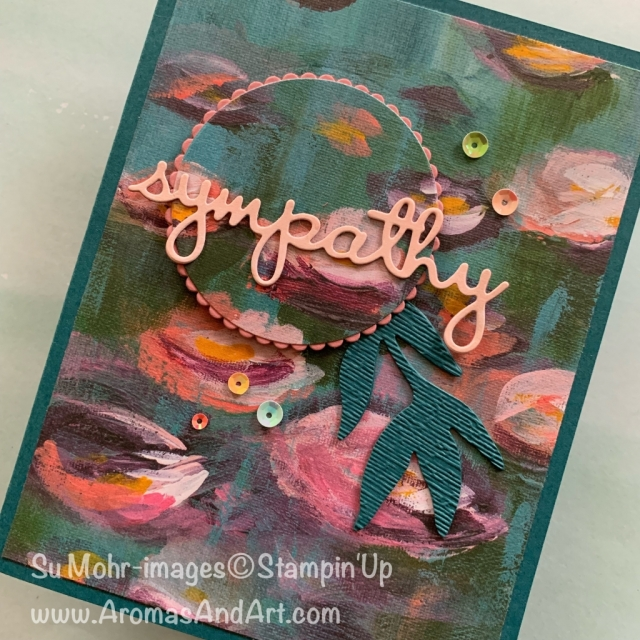 By Su Mohr for FMS; Click READ or VISIT to go to my blog for details! Featuring: Perennial Essence DSP, 2019-2021 In Colors, Well Written dies, Layering Circles dies, Frosted Bouquet dies, #sympathycards #handmadecards #cardchallenges #cardsketches #perennialessence #layeringcircles #frostedbouquet #wellwritten #handmadecards #handcrafted #diy #iridescent